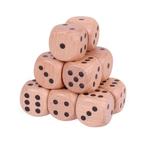 Jumbo Wooden Dice (one supplied)
