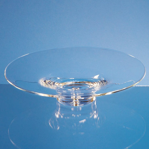 Personalised 35cm Handmade Bubble Base Shallow Bowl