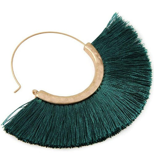 Rea Bohemian Fringe Earrings