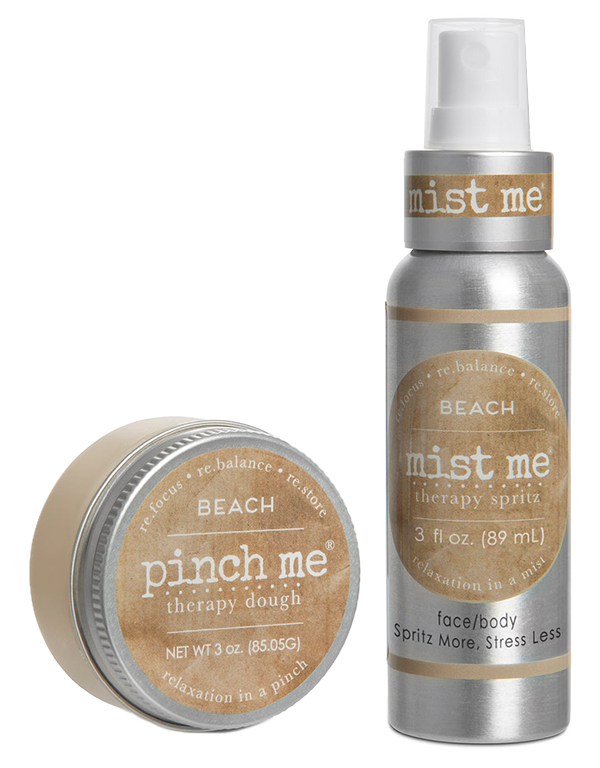 Beach - Duo Pinch & Mist - Pinch Me Therapy Dough