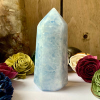 Blue Calcite Tower A