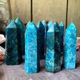 Blue Apatite Tower
