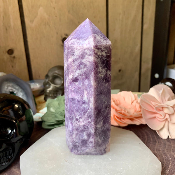 Lepidolite Tower