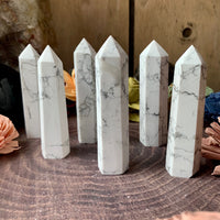 Howlite Tower Point