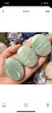 Green Aventurine Polished Palm Stone