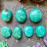 Amazonite Polished Palm Stone