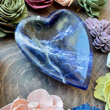Sodalite Heart Bowl