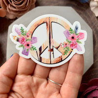 Peaceful Pieces Sticker