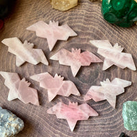 Rose Quartz Bat