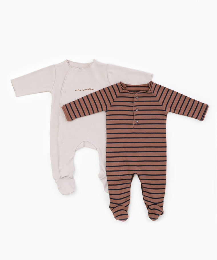 Organic Cotton Babygrows