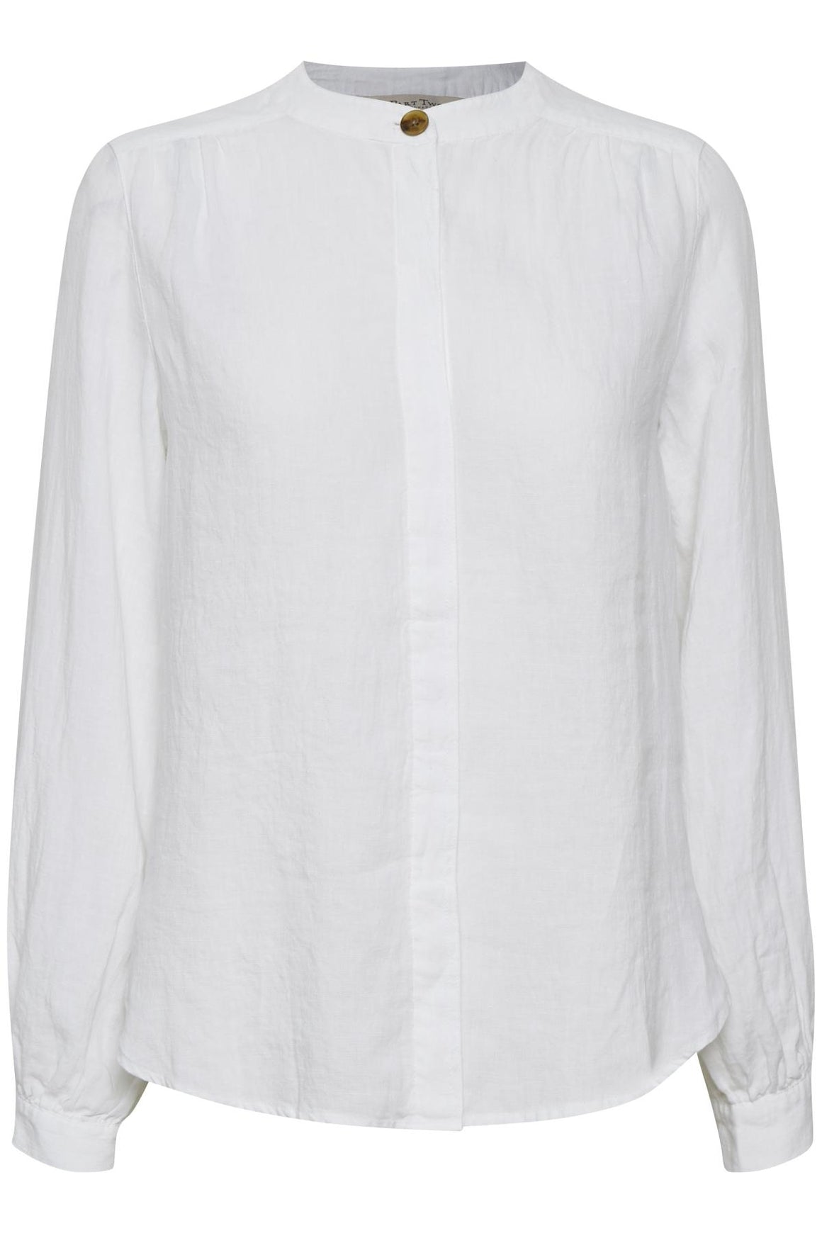 Part Two Bereth white linen Blouse