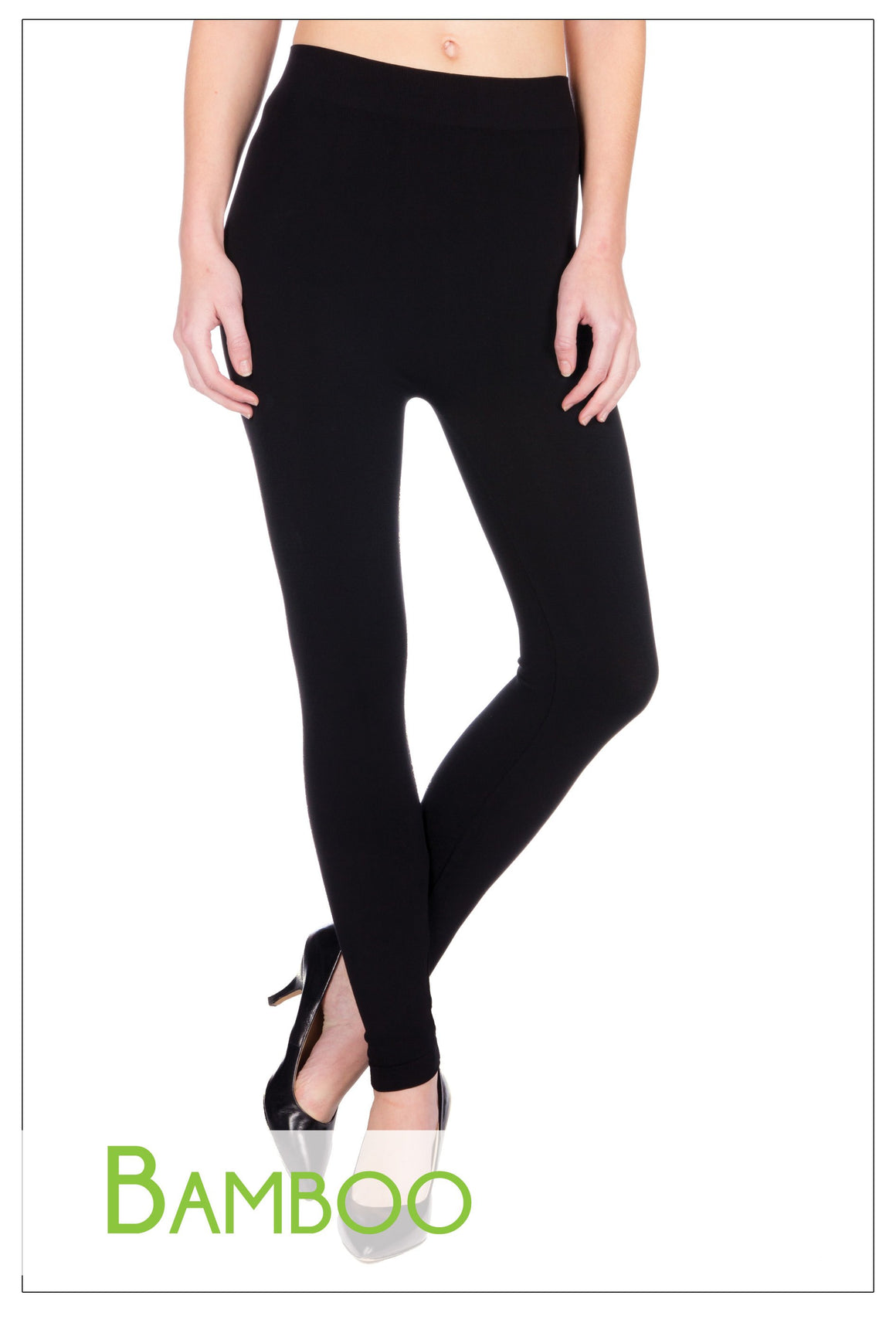 Bamboo basic one size full length leggings