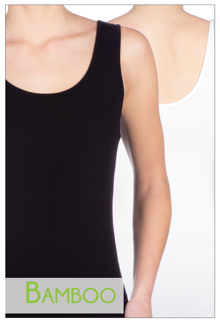 Bamboo basic one size tank top
