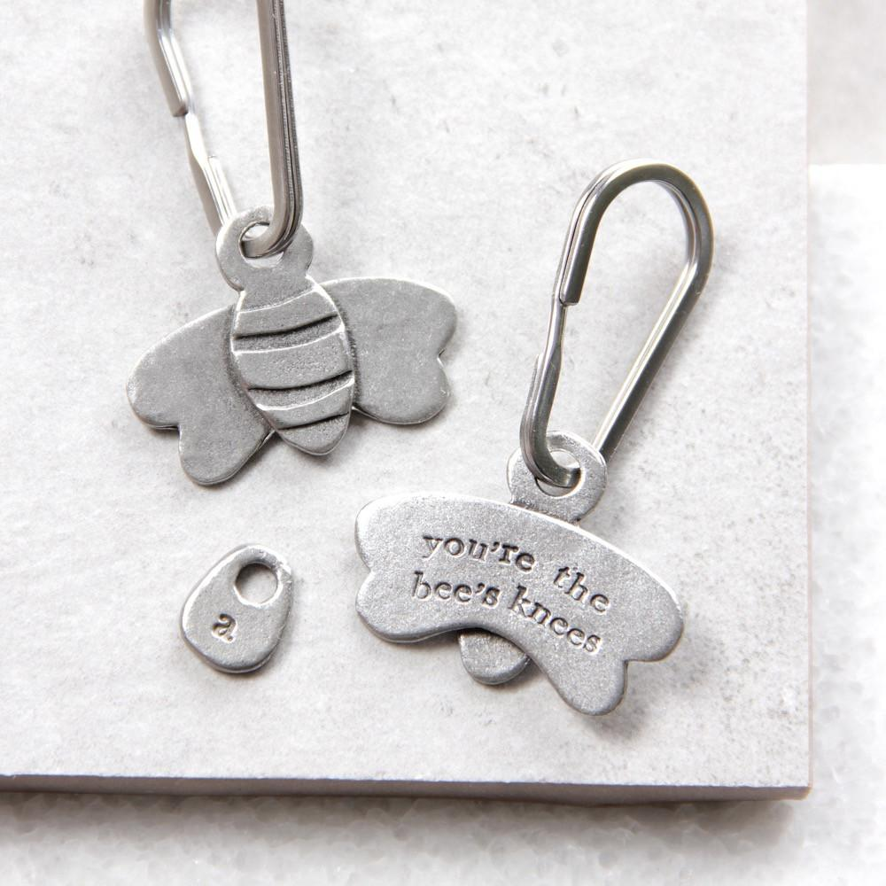 Bee's Knees keyring