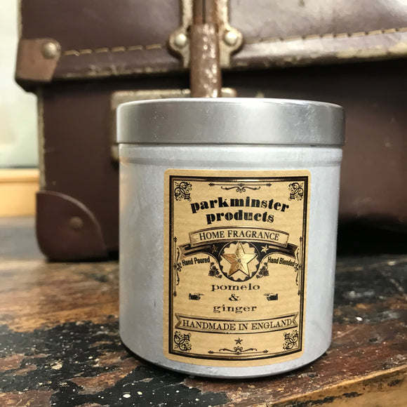 Parkminster soy candle large tin