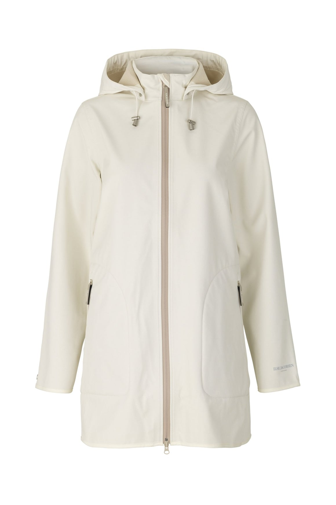 Ilse Jacobsen 135b Raincoat White Sugar