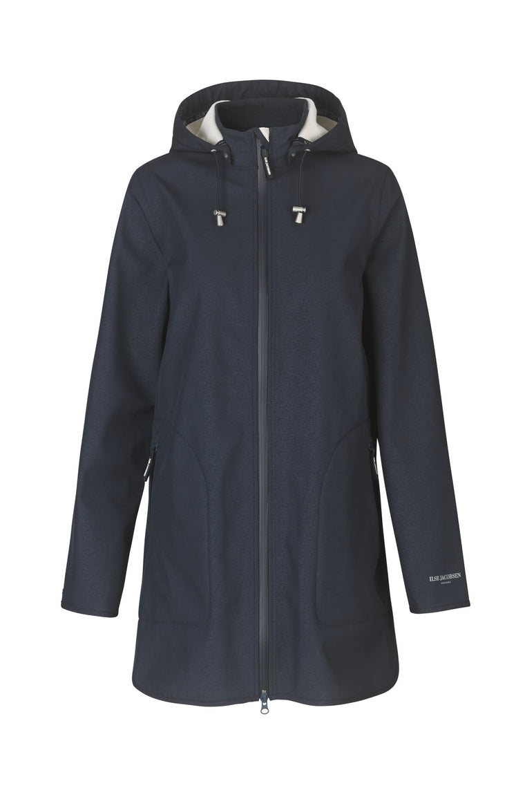 Ilse Jacobsen Rain 135b Raincoat Indigo navy