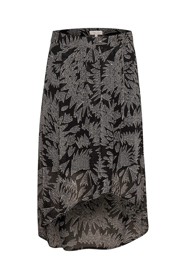 Part Two esmee black zig zag skirt