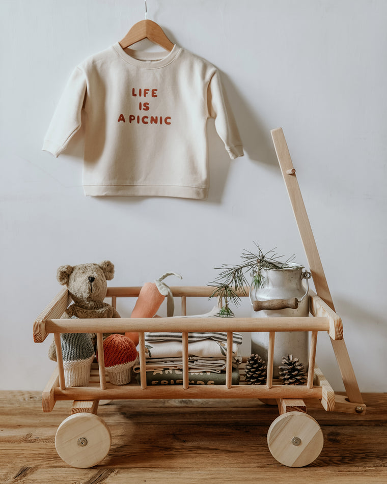 Life is a Picnic Swaetshirt