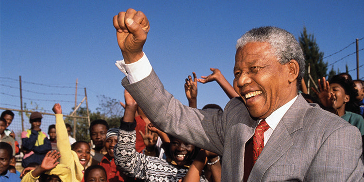 Free Biography Download and Flipbook to Honor Nelson Mandela