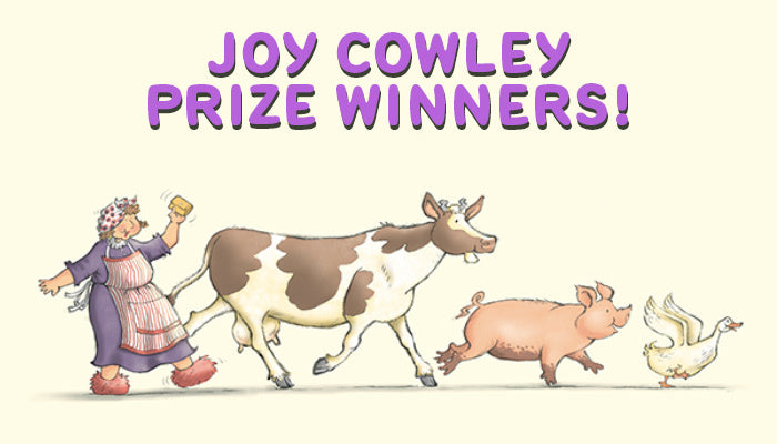 Joy Cowley Prize Winners!