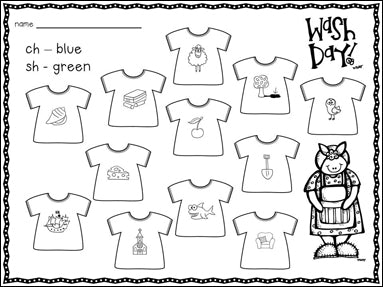 Using Mrs. Wishy-Washy to Teach Digraphs—with FREE