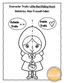 Teaching Character Traits with Little Red Riding Hood—with