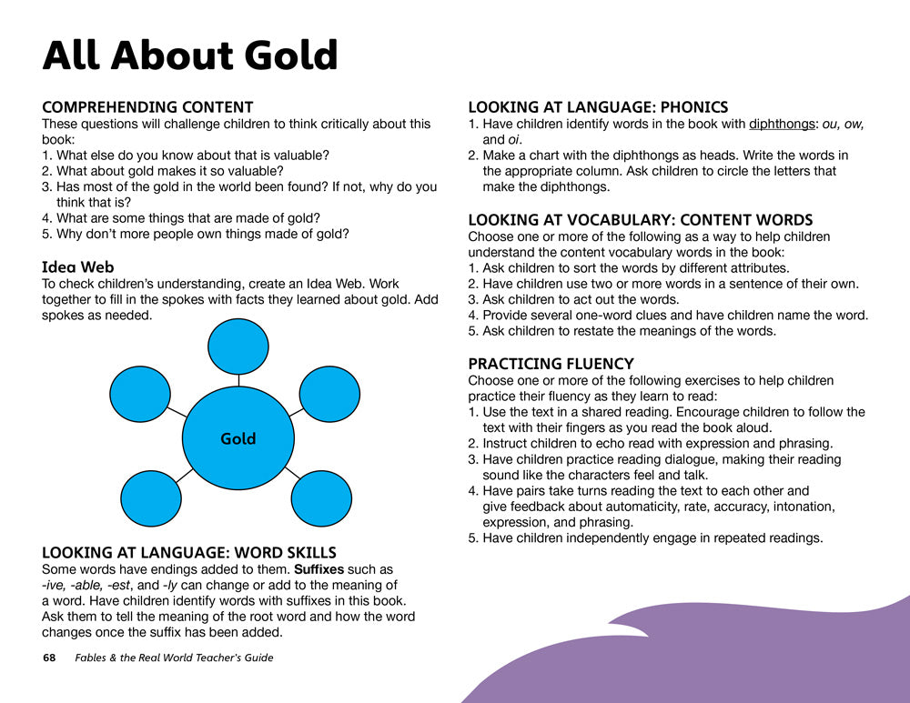 All About Gold Teacher's Guide