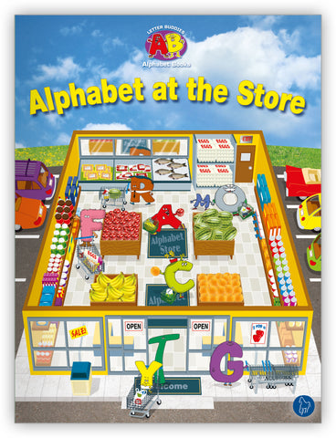 Alphabet at the Store Lap Book
