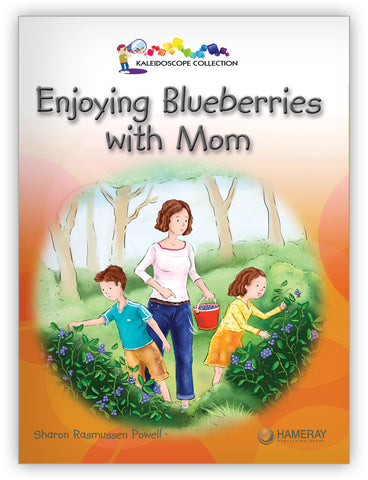 Enjoying Blueberries With Mom
