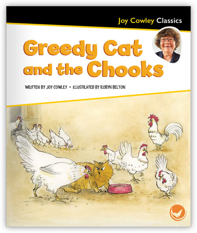Greedy Cat and the Chooks