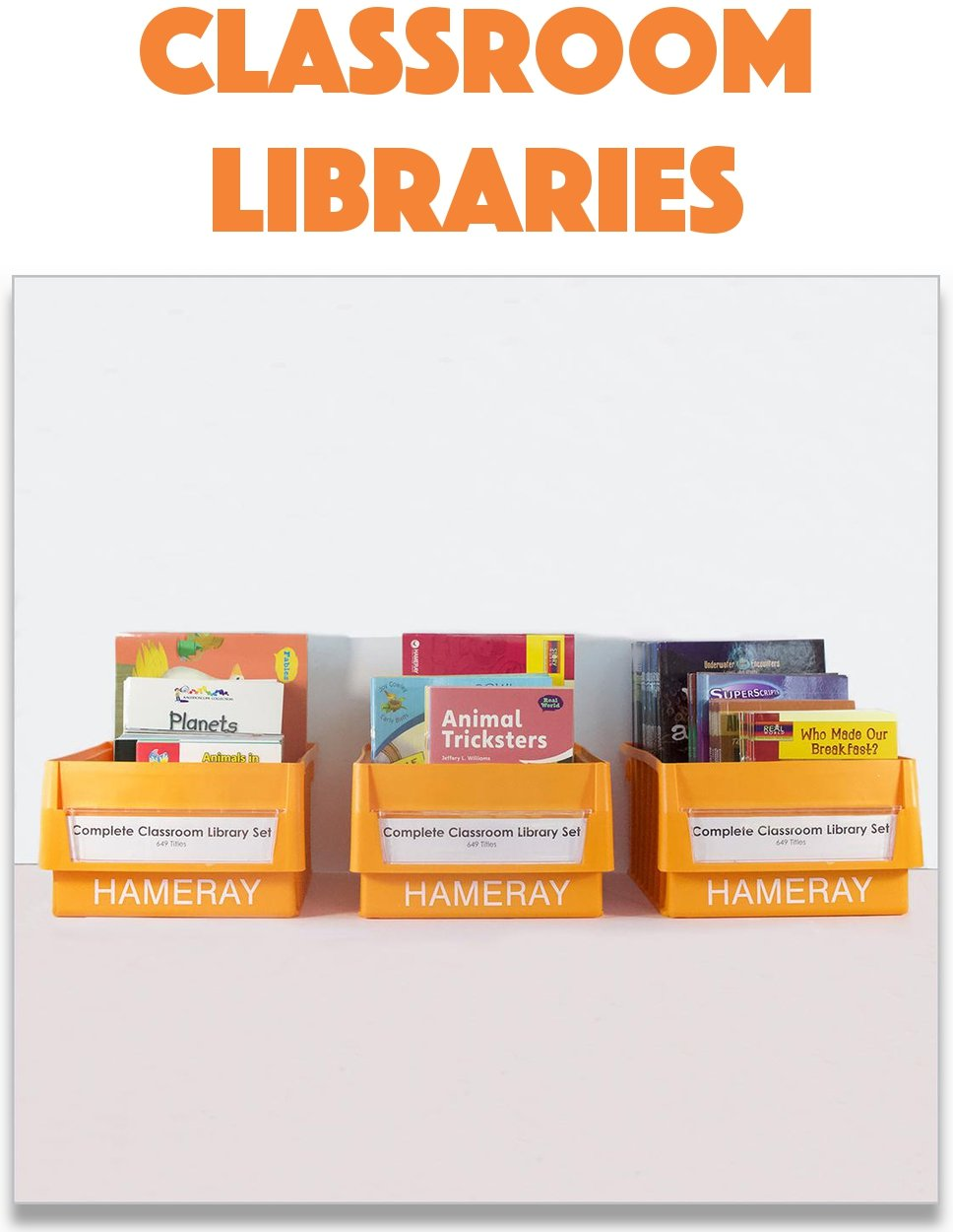 Hameray Classroom Library Books for Teachers