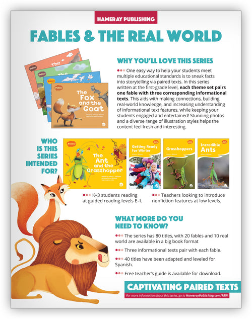 Fables & the Real World Series Snapshot