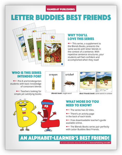 Letter Buddies Best Friends Series Snapshot