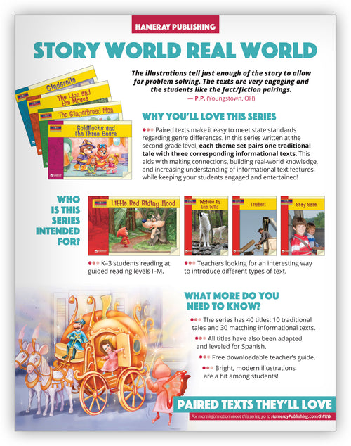 Story World Real World Series Snapshot