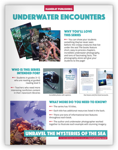 Underwater Encounters Series Snapshot