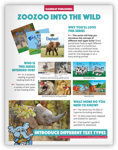 Zoozoo Into the Wild Series Snapshot