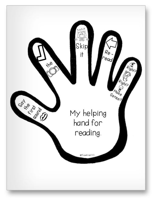 Helping Hand Classroom Activity Worksheet