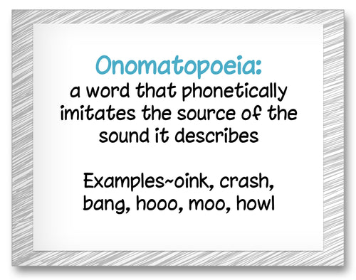 Joy Cowley Onomatopoeia Classroom Activity Worksheet