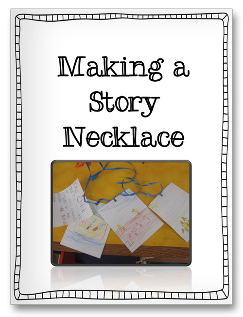 Making a Story Necklace Classroom Activity Worksheet