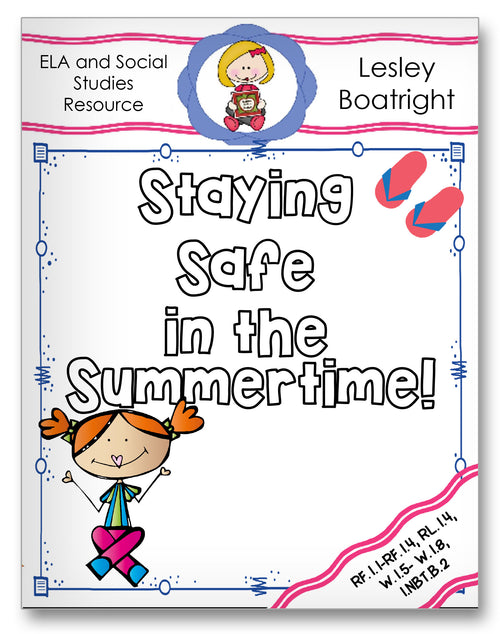 Staying Safe in the Summertime Classroom Activity Worksheet