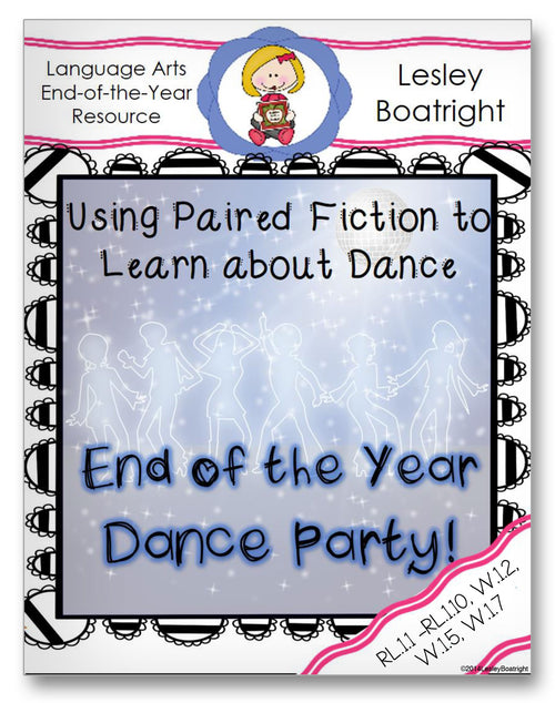 Using Paired Fiction to Learn About Dance Classroom Activity Worksheet