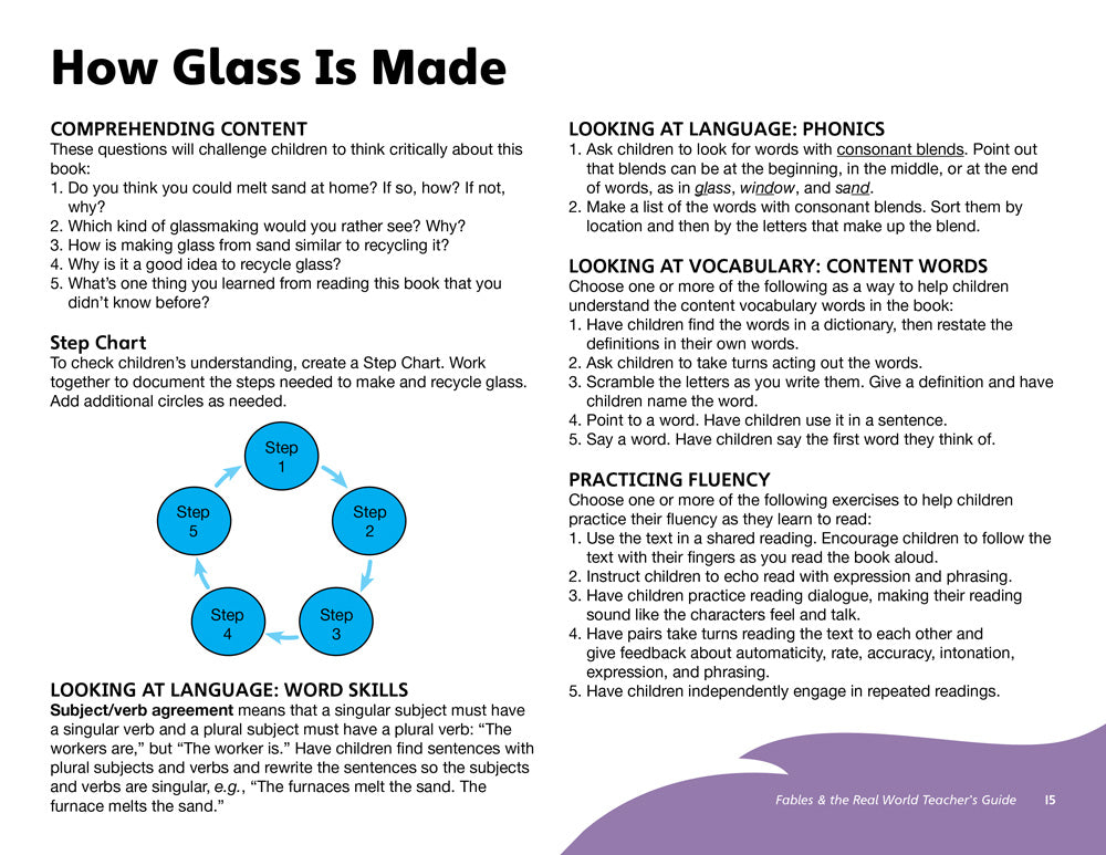 How Glass Is Made Teacher's Guide