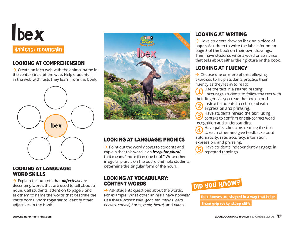 Ibex Teacher's Guide