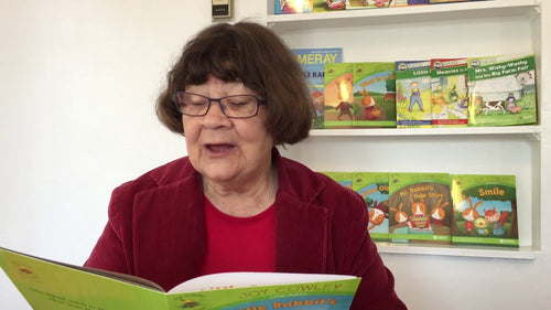 Joy Cowley Reads a Little Rabbit Book