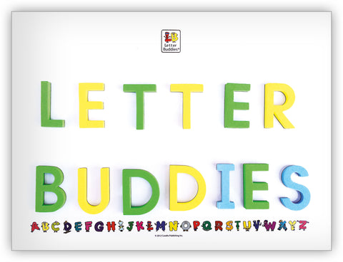 Letter Buddies Magnetic Whiteboard