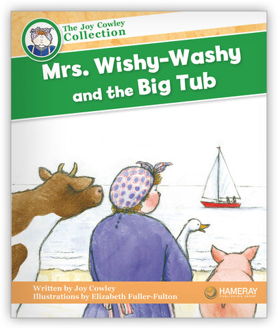 Mrs. Wishy-Washy and the Big Tub