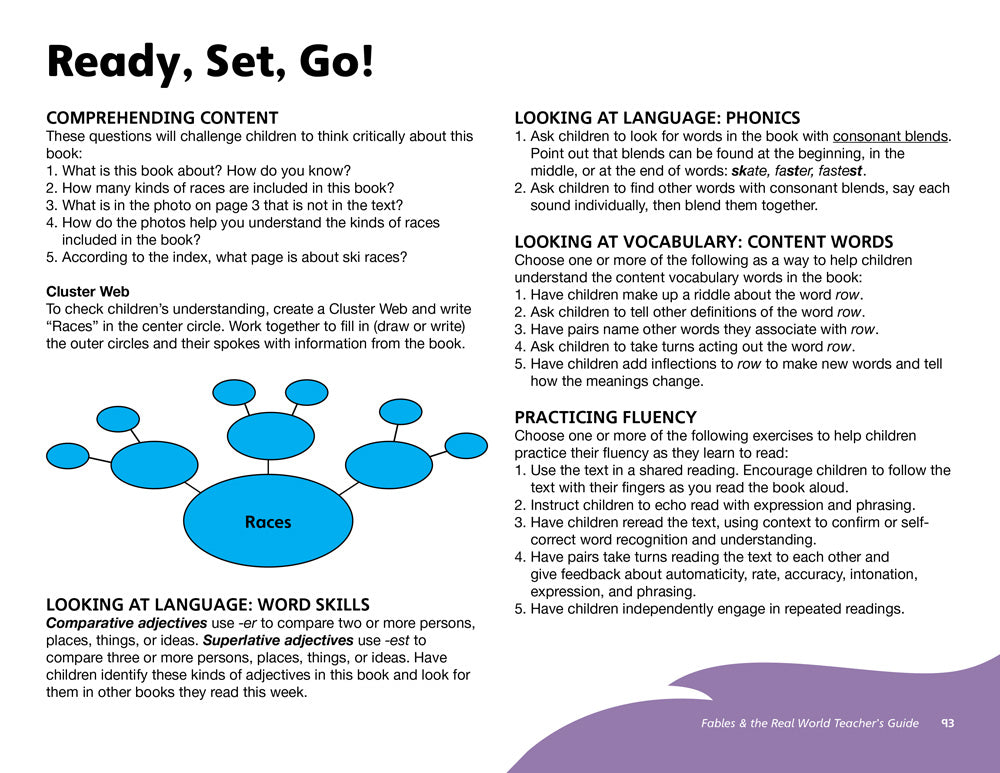 Ready, Set, Go! Teacher's Guide