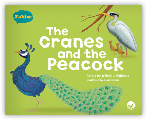 The Cranes and the Peacock