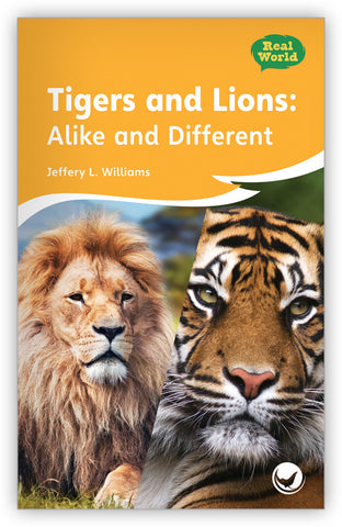 Tigers and Lions: Alike and Different Big Book